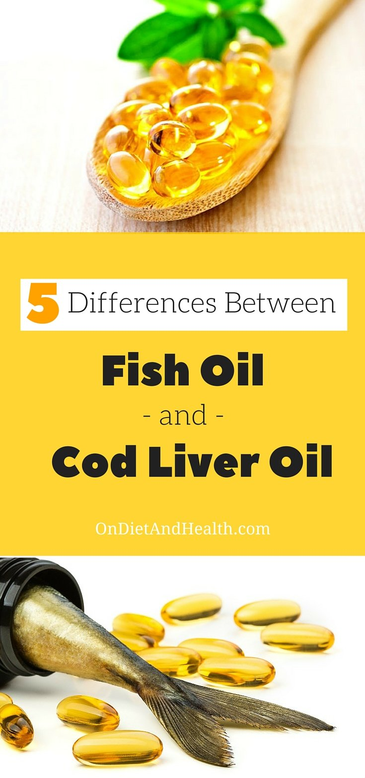 Which is best, fish oil or cod liver oil? Both have anti-inflammatory EPA-DHA, but there's more to know before buying fish oil or cod liver oil. Find out which one I recommend! // OnDietAndHealth.com
