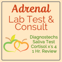 Adrenal Saliva Test and Consult info