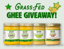 Pure Indian Foods Grass-fed ghee giveaway // OnDietAndHealth.com