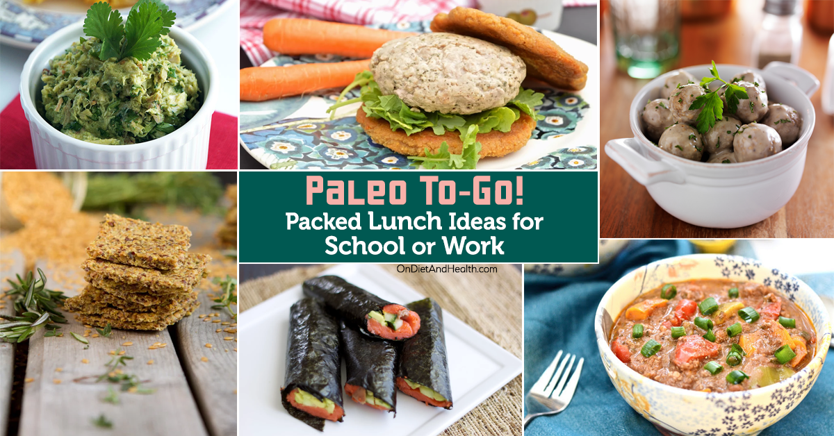 paleo to go packed lunch ideas for school or work