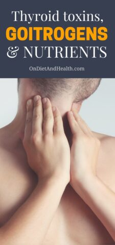 There are three ways to improve thyroid function - avoid thyroid toxins, regulate goitrogens and get specific thyroid nutrients. Read more about how these common problems and simple remedies can effect thyroid health! // ondiethandhealth.com