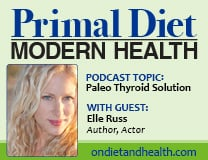 Primal Diet Modern Health Podcast - Paleo Thyroid Solution with guest Elle Russ // OnDietAndHealth.com