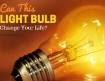 Can a Light Bulb Change Your Life?
