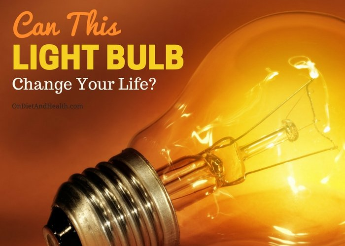 Does light affect sleep and energy? Can a lightbulb change your life. The sleep/wake cycle is run by daylight and by darkness. Are you getting enough daylight and using Blue Blockers or yellow bulbs at night? //OnDietandHealth.com