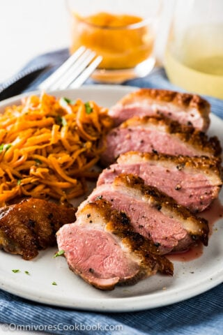 duck breast paleo holiday feast recipes