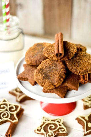 gingerbread paleo holiday feast recipe