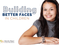 Young Girl Smiling is an example of building better faces in children