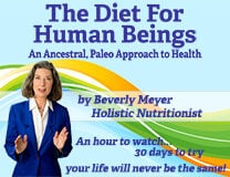 The Diet For Human Beings DVD and Video by Beverly Meyer