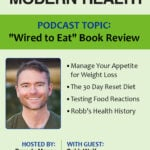 Robb Wolf photo and a list of topics on this book review and Podcast