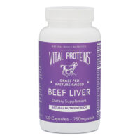 Pasture-Raised, Grass-Fed Beef Liver Capsules