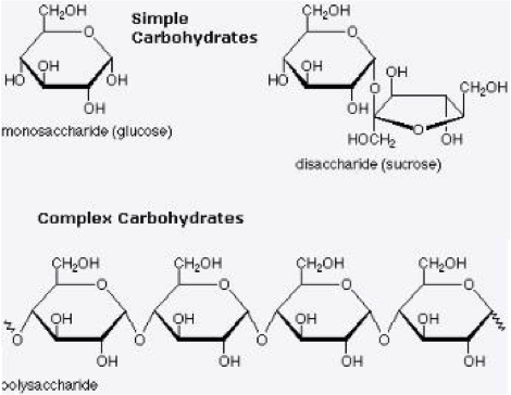 Graph of carbohydrate structure and complexity