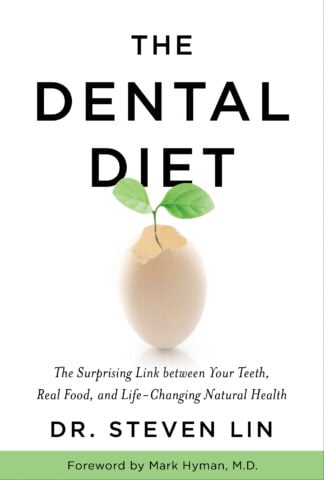 Book cover of The Dental Diet