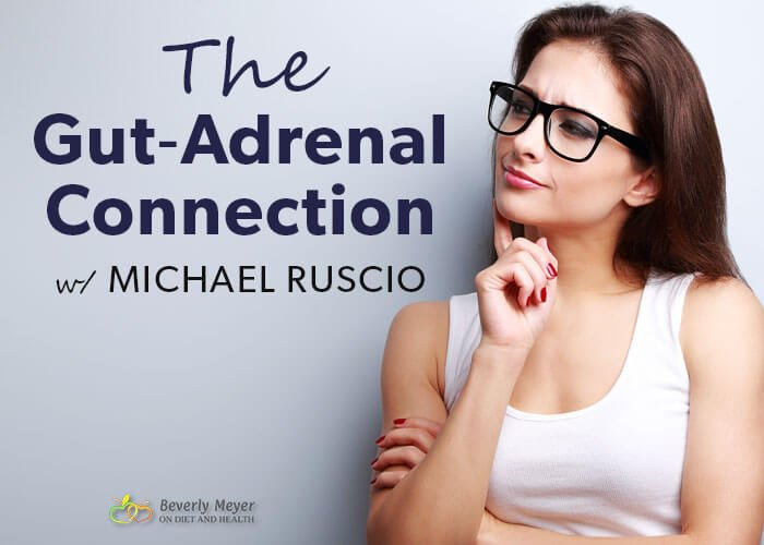 Healthy woman thinking about health. Is the Gut-Adrenal Connection causing fatigue, bloating or insomnia?