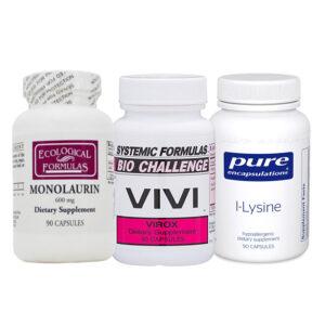 Anti Viral Multi Pack w. Monolaurin, VIVI & Lysine