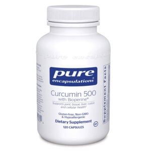 Pure Encapsulations Curcumin with Bioperene bottle of 120 capsules
