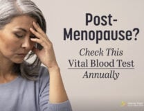 The Vital Blood Test for Post-Menopausal Women