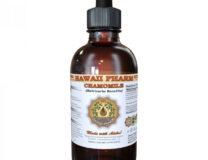 A bottle of Hawaii Pharm Chamomile Extract