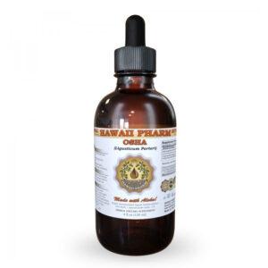 A bottle of Hawaii Pharm Osha Respiratoy Support