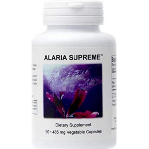 A bottle of Supreme Nutrition Alaria seaweed capsules for Iodine